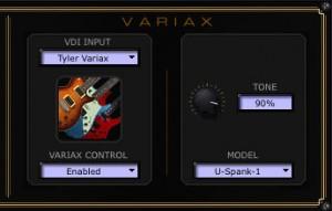 Variax Controller