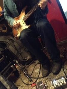 Yutaka Aoki playing with Naked Machine