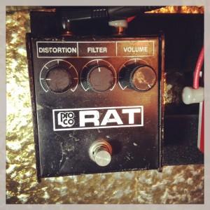 Proco RAT (1986 Black Face)