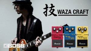 Boss 技 Waza Craft - SD-1W, BD-2W & DM-2W