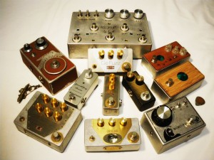 Steampunk Guitar Pedals