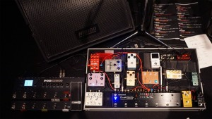 Pedalsboards at NHK Hall