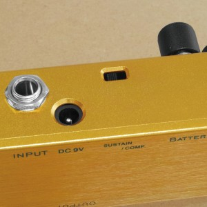 Lemon Yellow Compressor | Comp/Sustain Mode