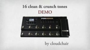 POD HD500 & Variax Demo #1